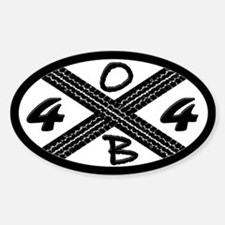 OBX 4x4 Decal