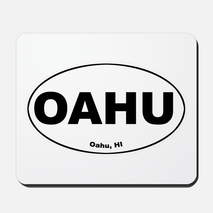 OAHU (Hawaii) Mousepad