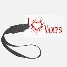 i love vampires Luggage Tag