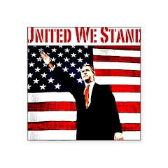 unitedwestand10x10.png Square Sticker 3