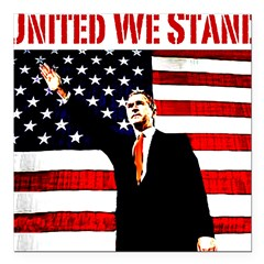 unitedwestand10x10.png Square Car Magnet 3