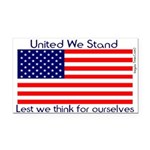 unitedwestand10x10.png Rectangle Car Magnet