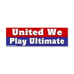 unitedwestand10x10.png Car Magnet 10 x 3