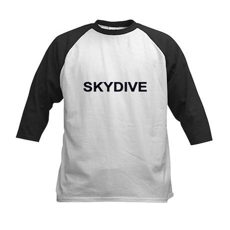 """SKYDIVE"" Kids Baseball Jersey"