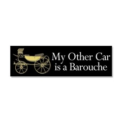 My other car is a Barouche Car Magnet