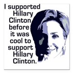 clintonrainbowbubbles.png Square Car Magnet 3