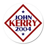 Kerry-Edwards 2004 Round Car Magnet