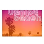 Venice beach Postcards (Package of 8)