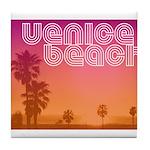 Venice beach Tile Coaster