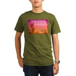 Venice beach Organic Men's T-Shirt (dark)