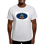 ID (Idaho) Ash Grey T-Shirt
