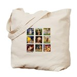 Famous Goldens (cl) Tote Bag