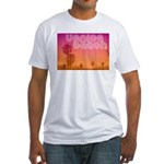 Venice beach Fitted T-Shirt