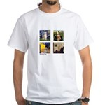 Famous Goldens (cl) White T-Shirt