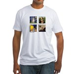 Famous Goldens (cl) Fitted T-Shirt