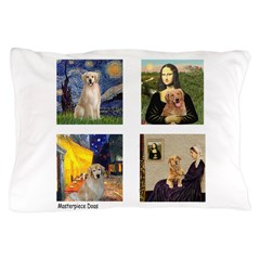 Famous Goldens (cl) Pillow Case