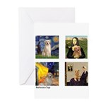 Famous Goldens (cl) Greeting Cards (Pk of 10)
