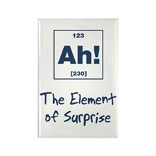 Ah Element Surprise Rectangle Magnet