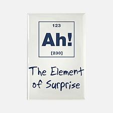 Ah Element Surprise Rectangle Magnet