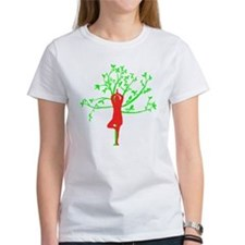 Yoga Tree Pose Tee