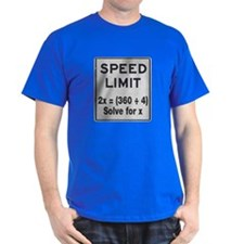 Speed Limit Math T-Shirt