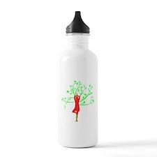 Yoga Tree Pose Water Bottle