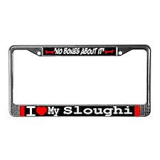 NB_Sloughi License Plate Frame
