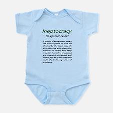 INEPTOCRACY Infant Bodysuit