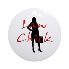 Law Chick Ornament (Round)