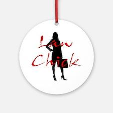 Law Chick Ornament (Round)