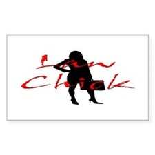 Law Chick Decal