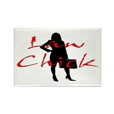 Law Chick Rectangle Magnet