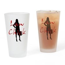 Law Chick Drinking Glass