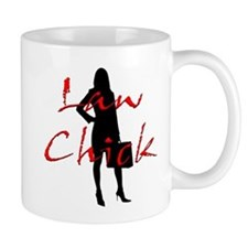Law Chick Small Mug