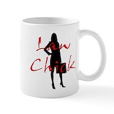 Law Chick Small Mug