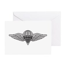 Parachute Rigger Greeting Cards (Pk of 10)