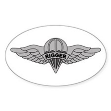 Parachute Rigger Stickers