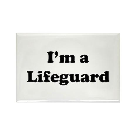 Lifeguard: Rectangle Magnet
