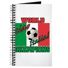 Ciao Italia World Soccer Champs Journal