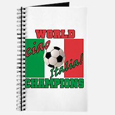 Ciao Italia World Soccer Champs Journal