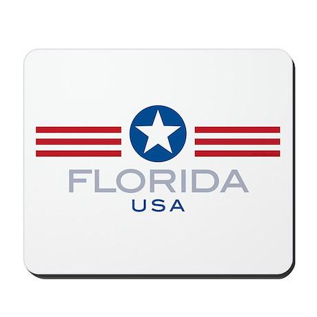 Florida-Star Stripes: Mousepad