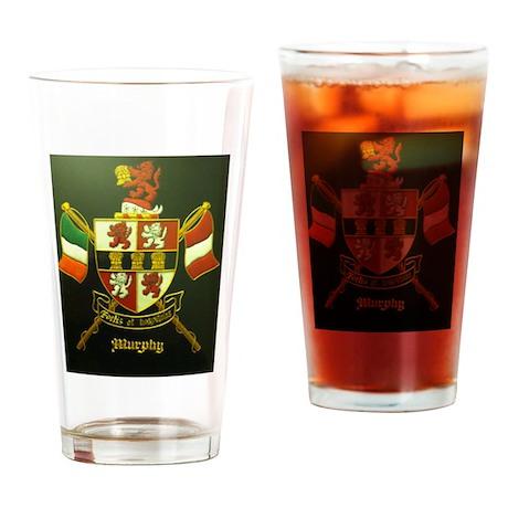 murphy crest Drinking Glass