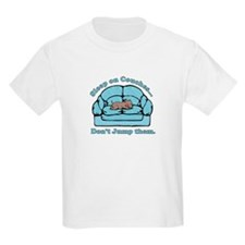 Don't Jump Couches Kids T-Shirt