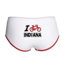 I Love Cycling Indiana Women's Boy Brief