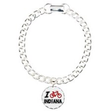 I Love Cycling Indiana Bracelet