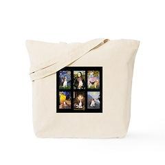 FamousArtBeagle Comp Tote Bag