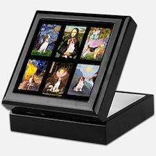 FamousArtBeagle Comp Keepsake Box