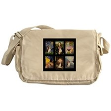 FamousArtBeagle Comp Messenger Bag
