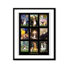 FamousArtBeagle Comp Framed Panel Print