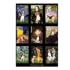 FamousArtBeagle Comp Postcards (Package of 8)